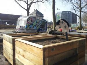 … oder beim Bau von Urban Gardening-Pflanzkübeln: Das Wirkungsspektrum von Shoutoutloud ist breit gefächert
