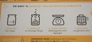 So geht Einkaufen bei Unverpackt Mainz ab dem 08. Juni