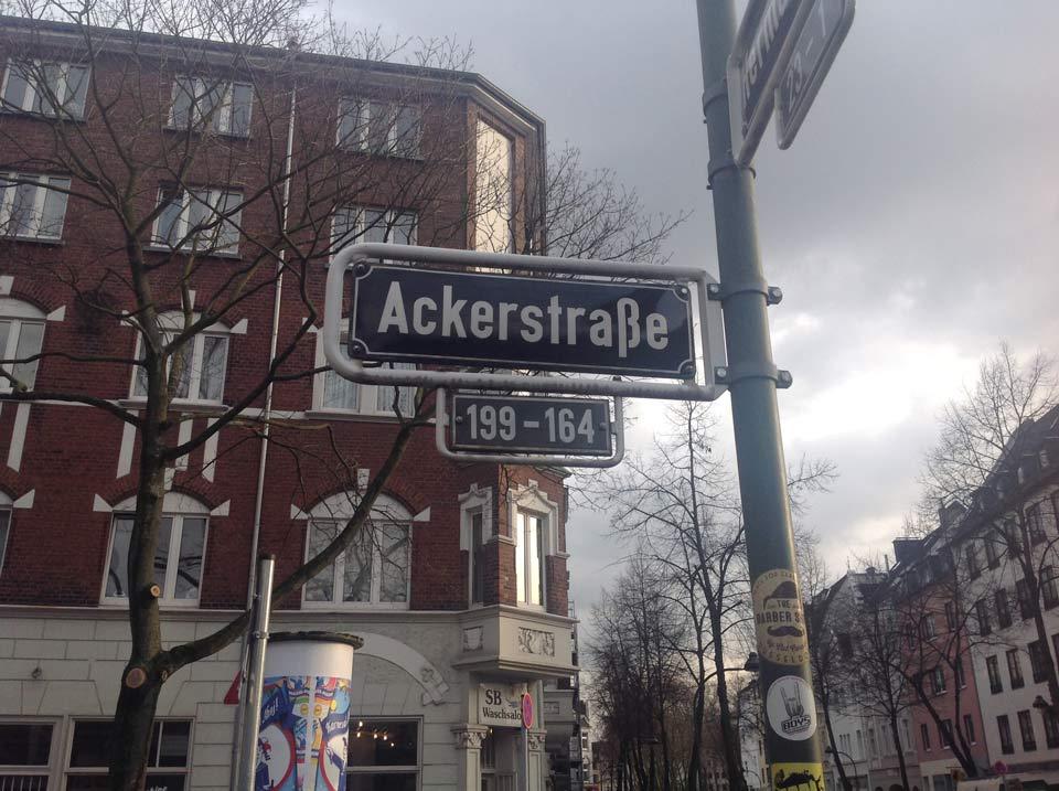 Früher Arbeiterviertel, heute zunehmen In-Viertel: Flingern und die Ackerstraße