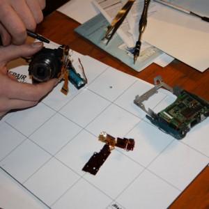 Objektivmotor repariert – die Kamera macht wieder Fotos
