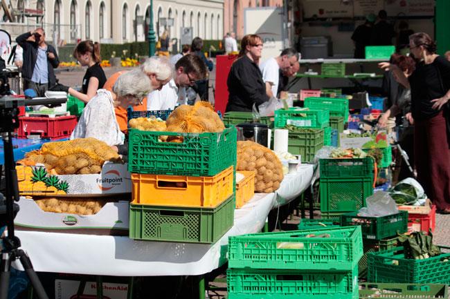 Knapp 12 Tonnen Lebensmittel – »Ausschuss«-Ware