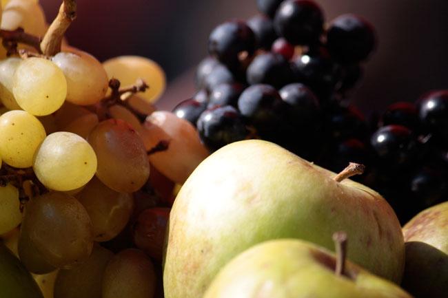 Zum Mitnehmen: Jede Menge Obst
