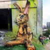 Bordalo Segundo: Graffitti Hase