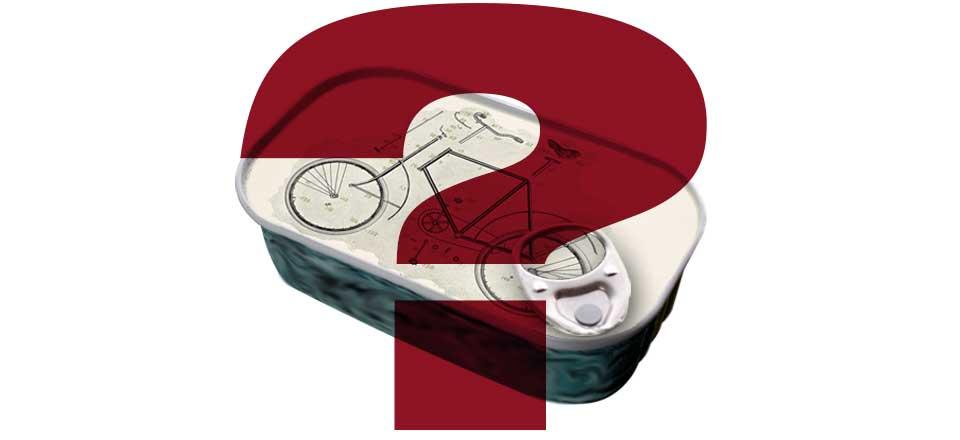 Fahrrad aus der Dose?