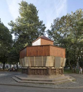 »Fountain of Fortune«: Im Fortunabrunnen am Isartorplatz