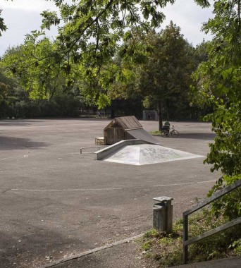 Skatepark Candidplatz: »In and Out«