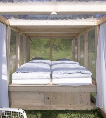 Im Rosengarten: »A house of simple pleasure«