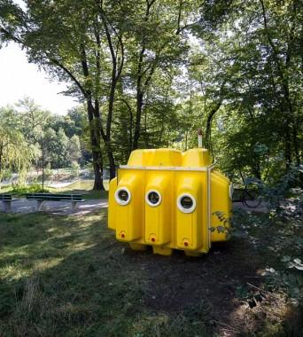 Englischer Garten: »Yellow Submarine«