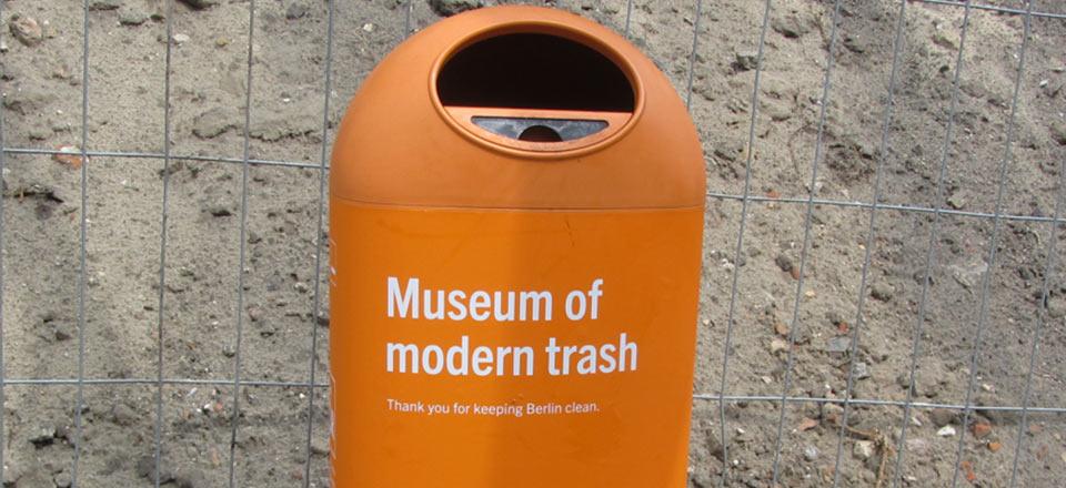 Die Berliner Stadtreinigungsbetriebe (BSR) wissen schon länger um den Wert von Müll …©Foto: Eva Becker
